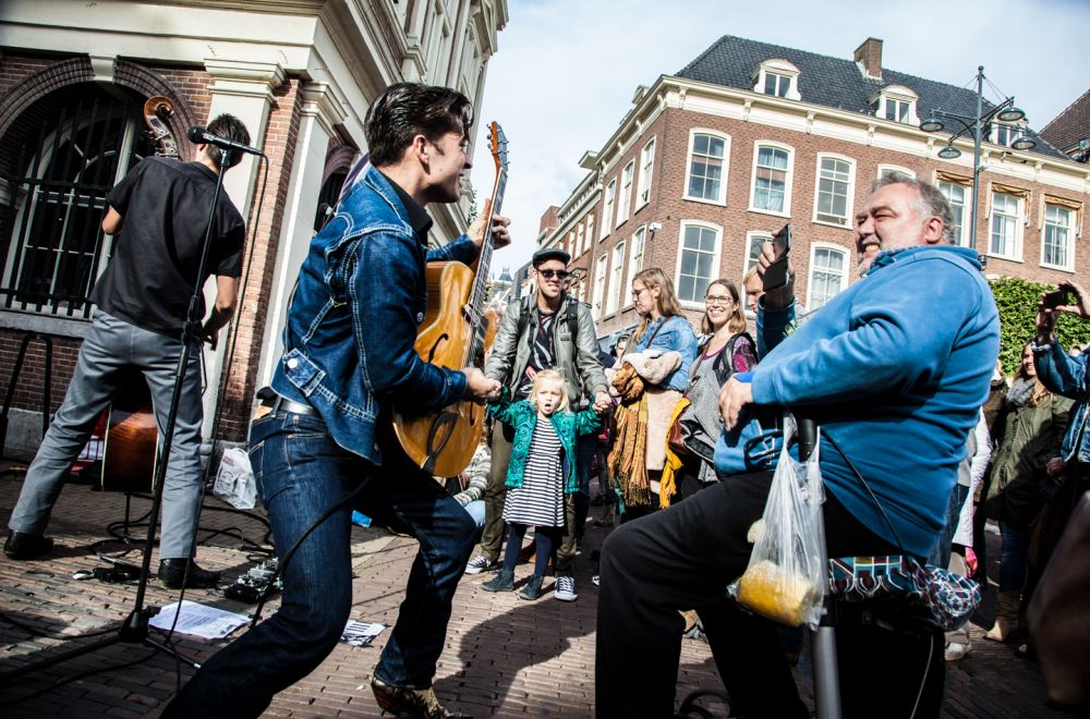 2016 - Sharon & Maureen Fotografie (The Badger and the Bass in Haarlem)