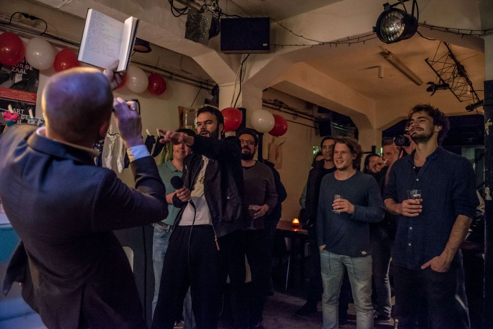 2017 - Denise Amber Photography (Electropoëzie in Leiden)