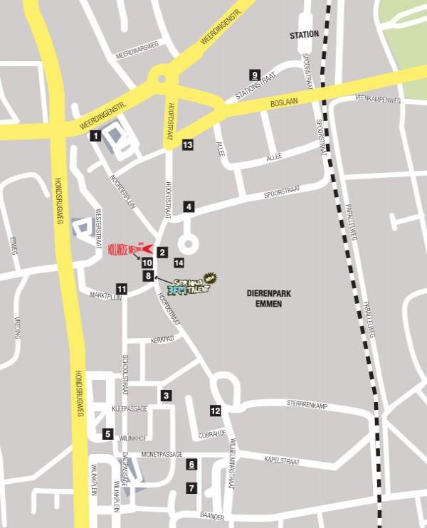 Map Emmen