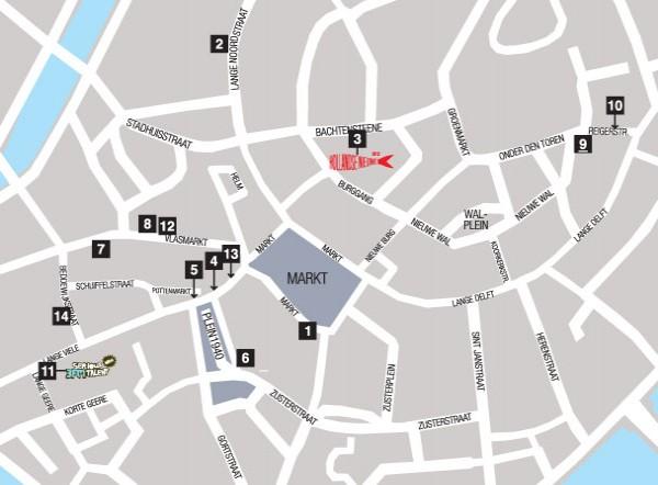 Map Middelburg