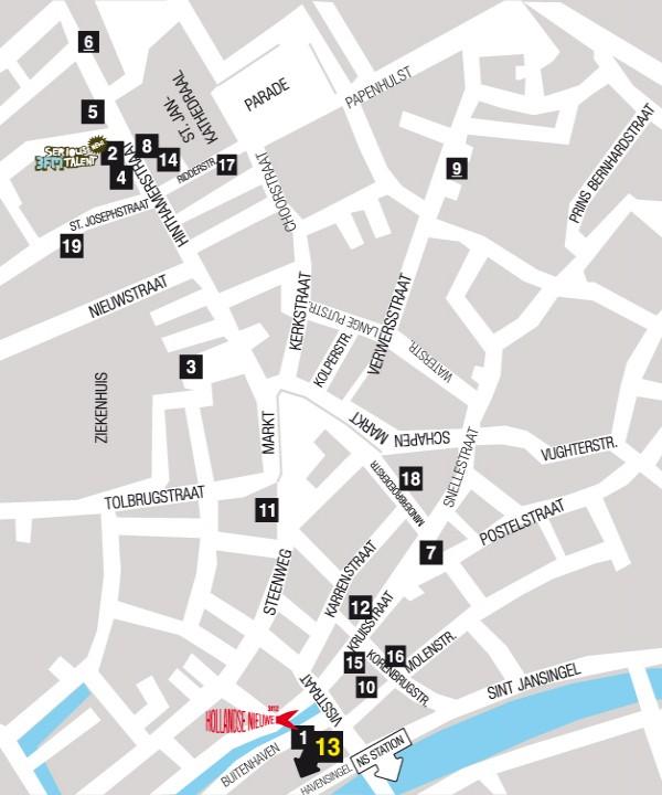 Map Den Bosch